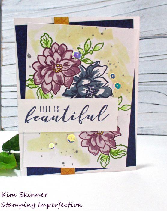 Sunlit Flowers With Altenew Inks Kim Skinner