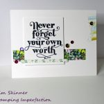 Use Your Patterned Paper Scraps For Fun Card Details