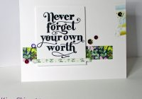 Using Patterned Paper Scraps For A Card