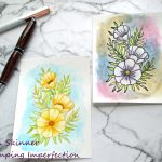 Artist Watercoloring 101: 2 Ways