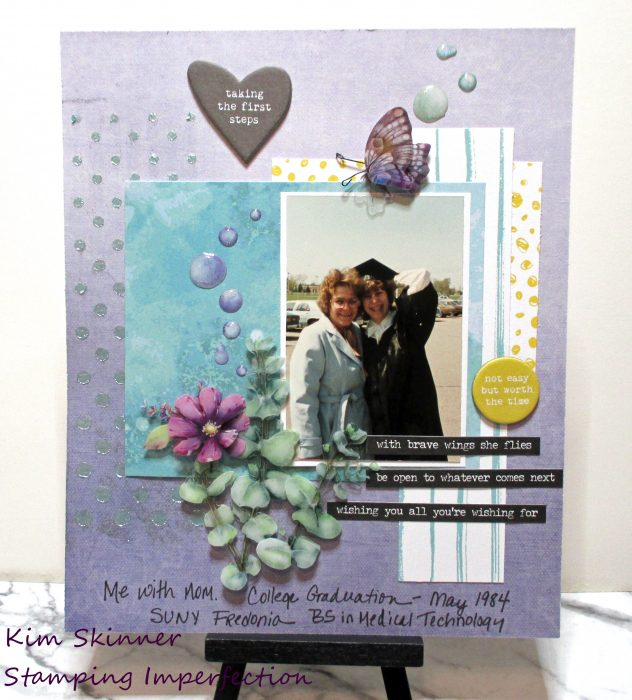 Challenge Yourself March Scrapbook Challenge