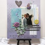 Challenge YOUrself March Scrapbooking Challenge:  Going Dotty!