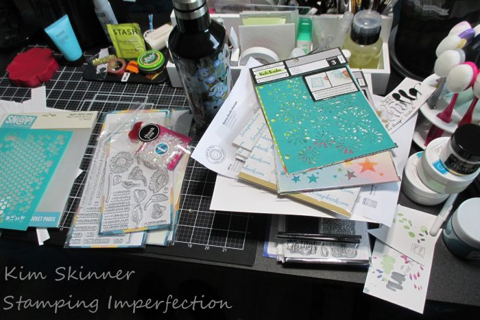 Mixed Media Art Journal with Vicki Boutin supplies