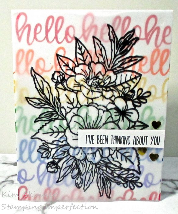 Creating Quick and Trendy Colorful Cards