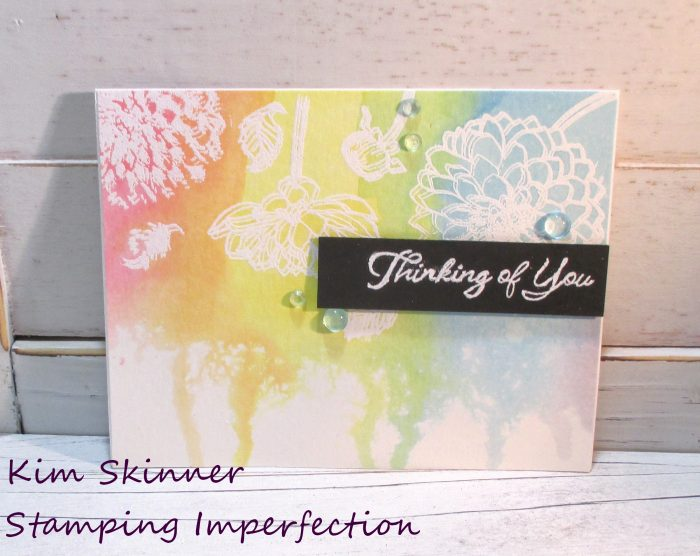 5 Cards with 1 stamp set from Whimsy Stamps + Video