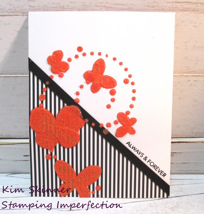 simon says stamp june kit and gina k glitz glitter gel