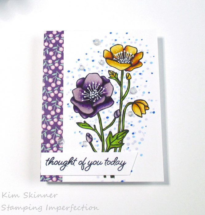 Coloring Florals with alcohol markers catherine pooler grace in bloom