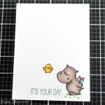 Happy Hippos CAS Card With Alcohol Markers