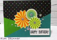 Creating a quick card with patterned paper and ink blending with Catherine Pooler designs