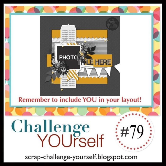 Challenge yourself with interactive scrapbook elements