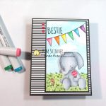 Create A Cute Elephant With Ice Cream Using A Digital Image