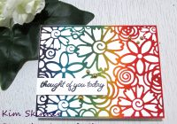 Create a quick card with catherine pooler flower burst cover die