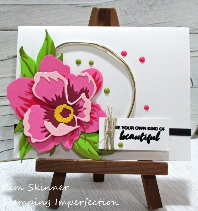 Adding metal elements to your handmade cards