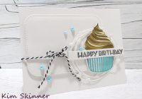 Quick Layered Stamp Trick: Altenew Layered Cupcake Birthday Card Using A Die Template