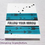 Create A Masculine Card Using Altenew's Amazing Arrow Bundle
