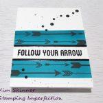 Create A Masculine Card Using Altenew's Amazing Arrow Bundle
