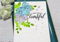 exploring watercolor mediums to create a faux watercolor look