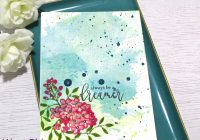 exploring watercolor mediums with liquid inks
