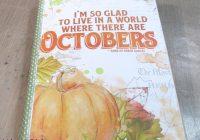 Create a Fall Gratitude Journal From A Traveler's Notebook