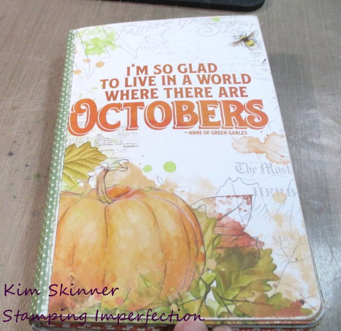 Create a Fall Gratitude Journal From A Traveler's Notebook