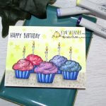 Digital Stamps:  Create Happy Birthday Cards by Combining Images!