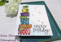 create a masculine birthday card with a tic-tac-toe challenge