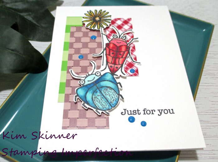 Create a picnic themed card with a sketch challenge