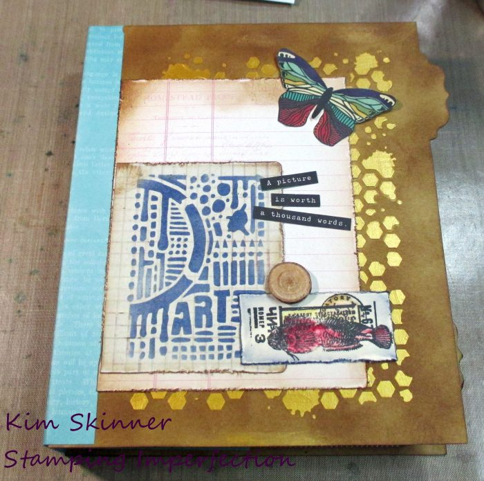Kim's Art Journal Challenge
