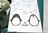 Stamping Imperfection 5 minute card: Holiday