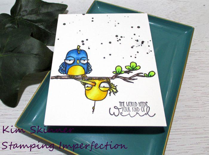 Stamping Bella Oddball Birds