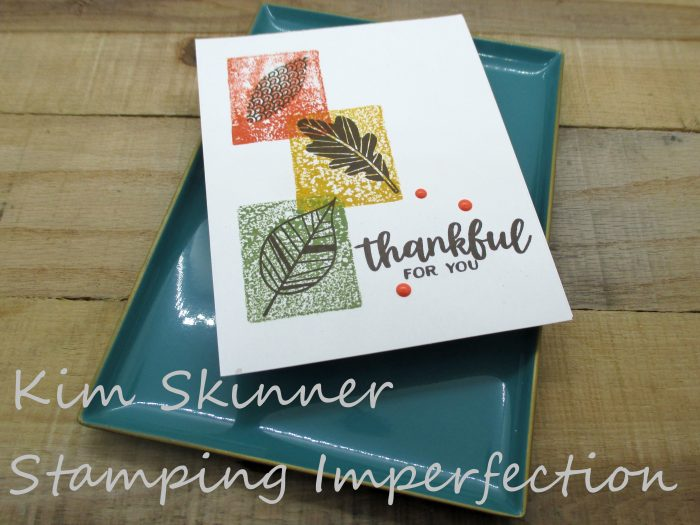 3 ways to use clear block stamping to get quick color on your card