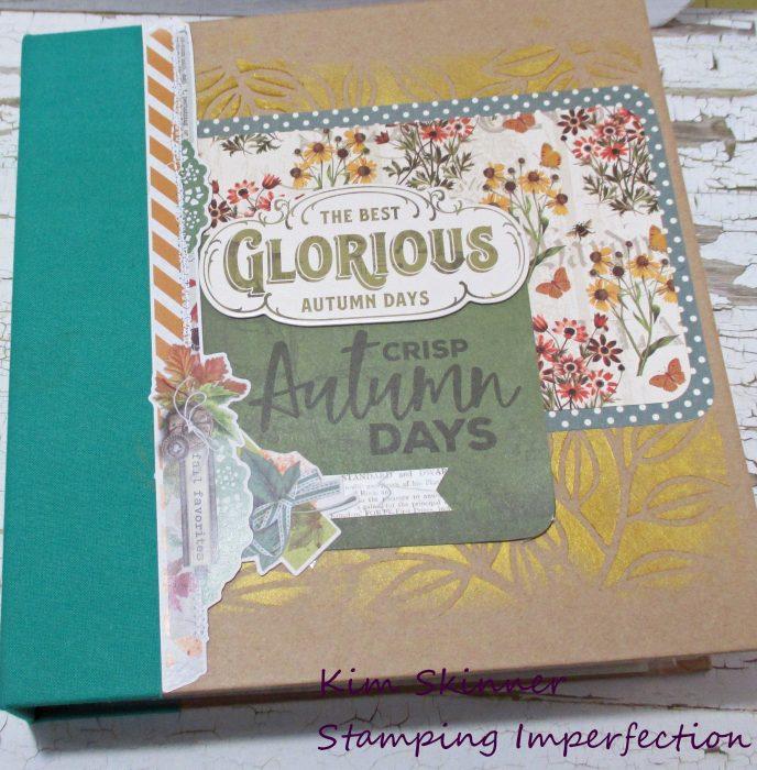 Autumn splendor interactive hybrid album flip through