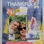 Scrapbook Theme Challenge YOUrself: Thankful