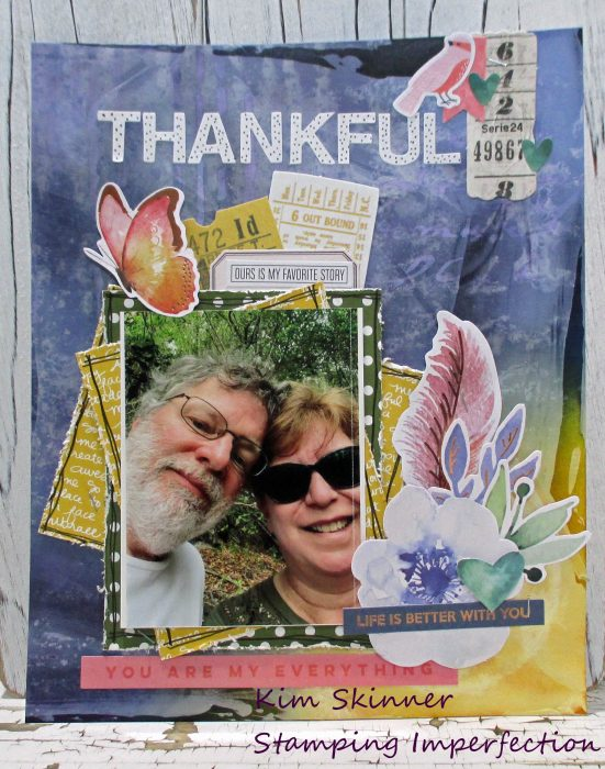 Scrapbook Theme Challenge: Thankful
