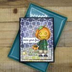 If You Are A Fan Of The Office, You Will Love This Pumpkin Head Card!
