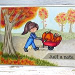 Using Digital Images To Create Fall Cards