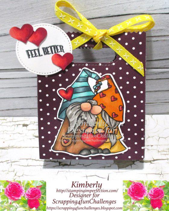 Gift bag using a digital image