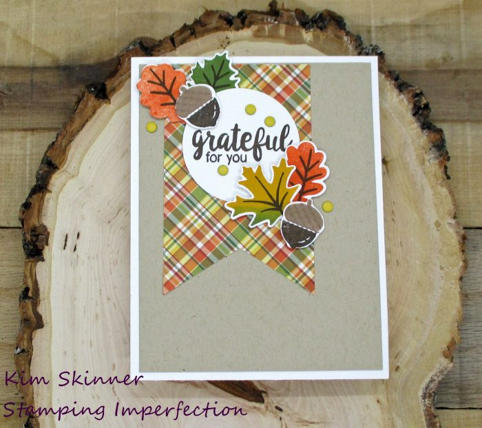 classic card sketch for a quick fall card with sunny studio stamps