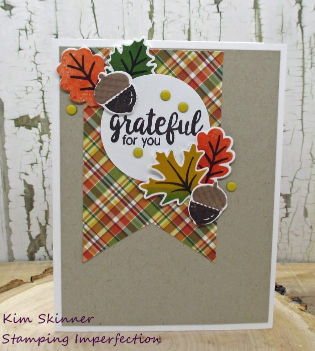 classic sketch for quick fall card using sunny studio stamps