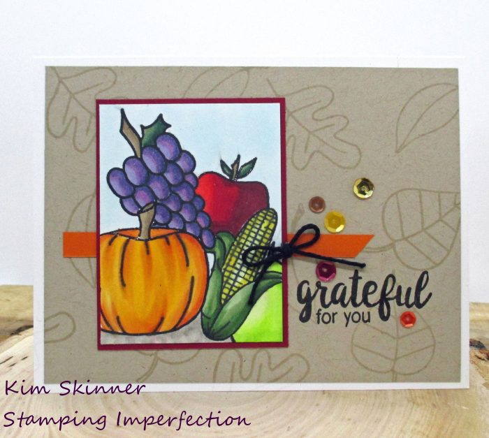 Create and Inkspire October Kit with card sketch