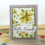 Use Your Patterned Paper To Make A Quick and Easy Layered Card!