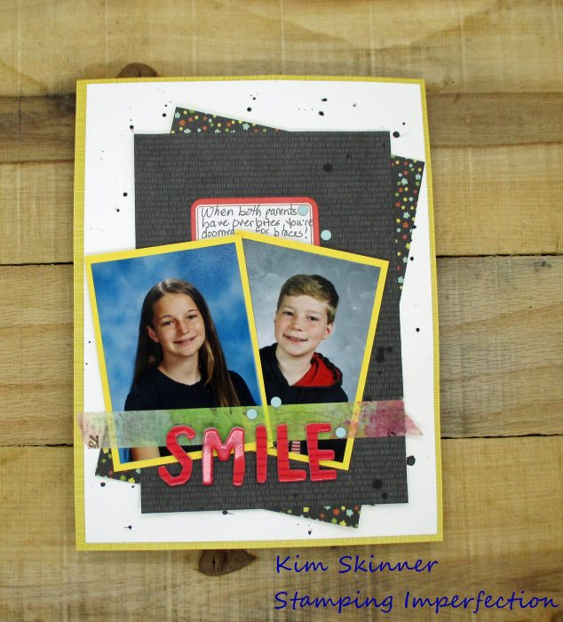 Use A Card Sketch To Create A Scrapbook Layout
