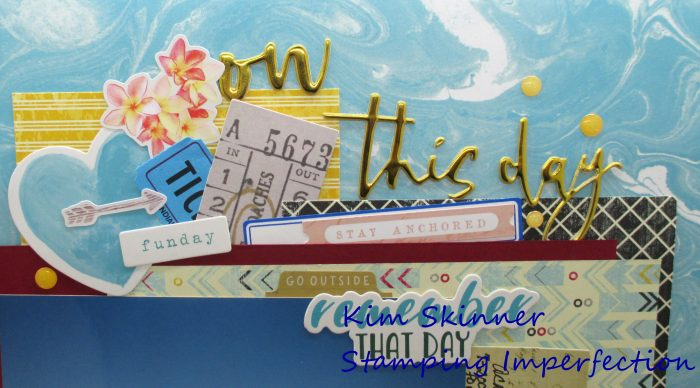 Layout a day challenge scrap happy 1020 day 8