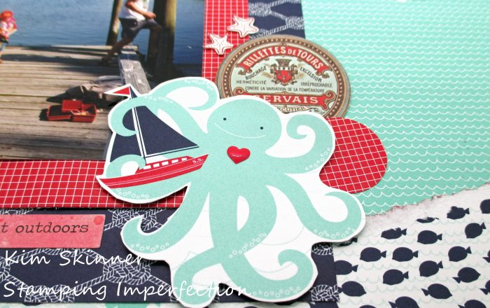 Creating ephemera from your patterned paper