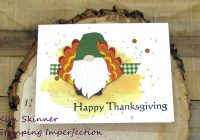 quick and easy fall card with photoplay paper