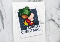 Making Christmas cards with Christmas Digis from Kinda Cute by Patricia