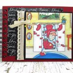 Gift Idea: Mini Christmas Scrapbook With Digital Images
