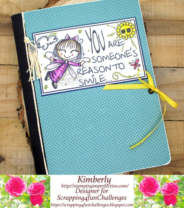 Gift idea: notebook with bugaboo stamps