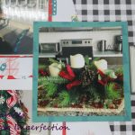 Christmas Layout With Hip Kit Club