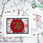 Quick Christmas Card With No Stamping!